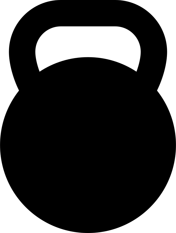 Kettlebell clipart svg. Png icon free download