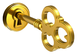 Key to success png. Business leads tools