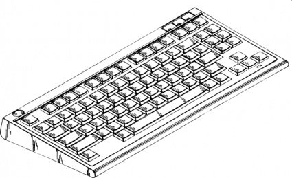 Keyboard clipart. Free computer and vector