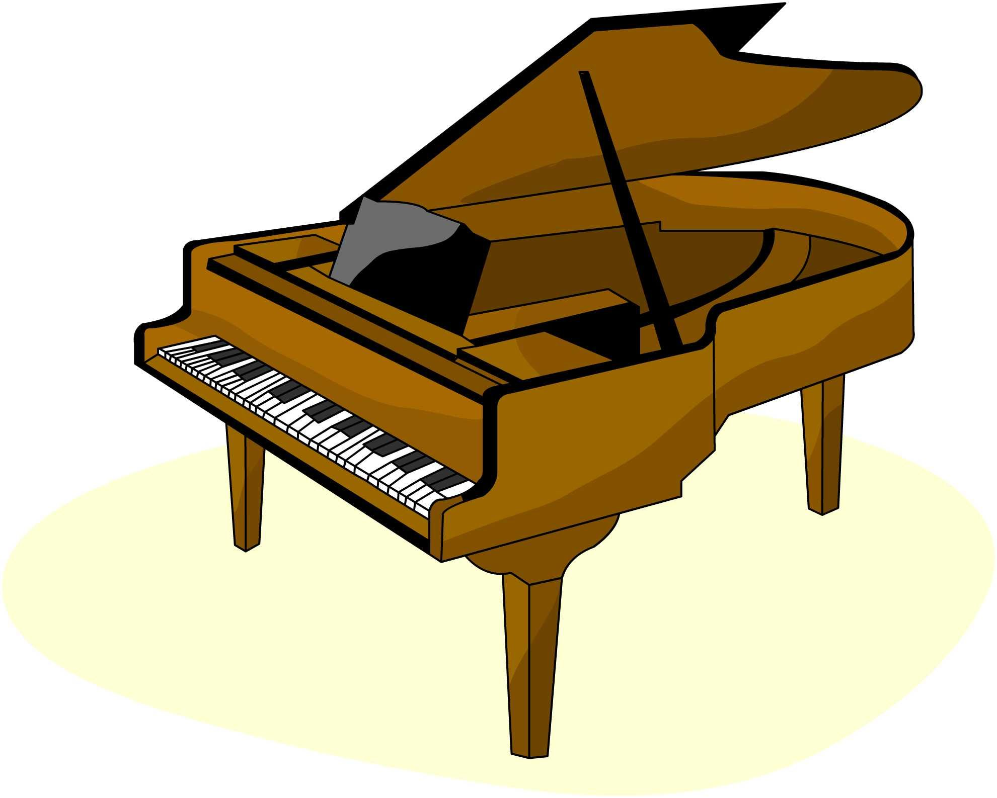 Keyboard clipart piano man. Instrument