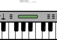 Keyboard clipart plain. Free download electronic clip