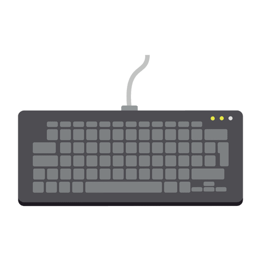 Keyboard vector png. Flat icon transparent svg