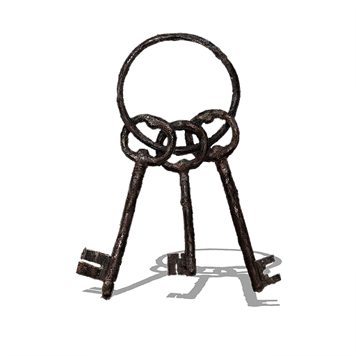 Keys on a ring png. Jailer s key dark