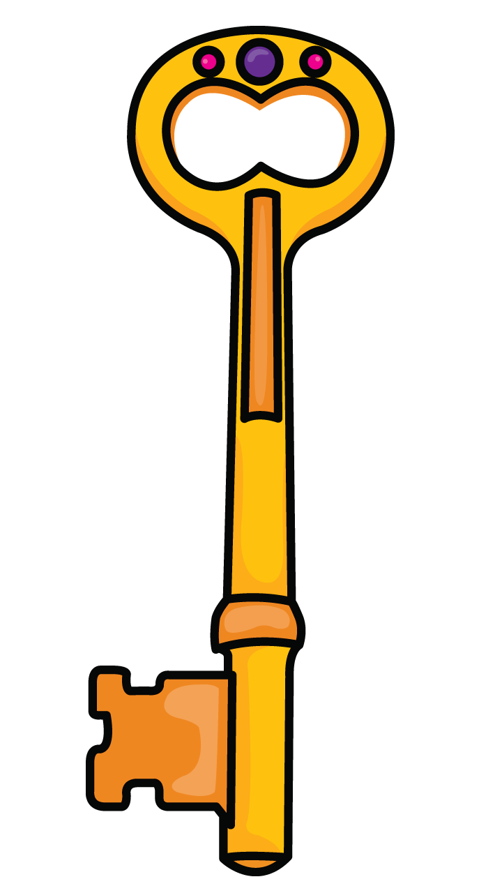Keys transparent simple. Try to trace draw