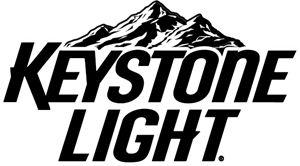 Keystone vector symbol. Light beer logo ai picture library stock