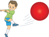 Kickball clipart. Cilpart absolutely smart sports