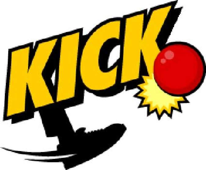 kickball clipart kids