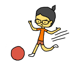 kickball clipart summer