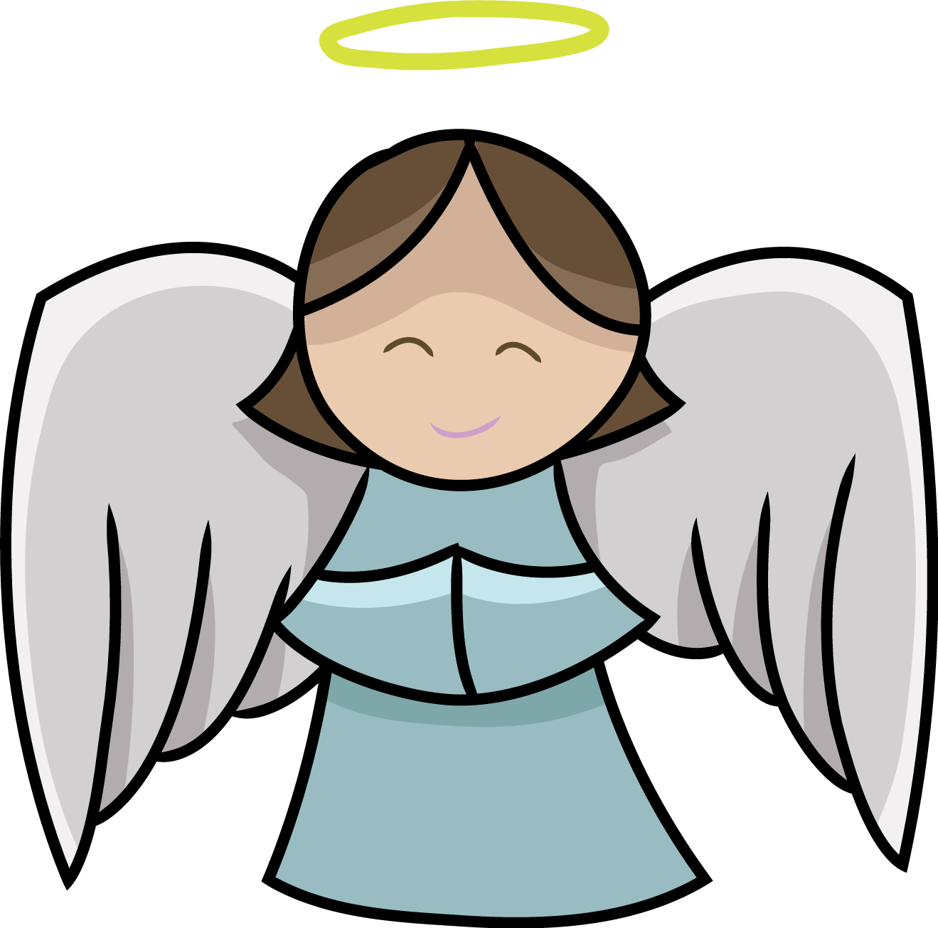 Free to use cliparts. Angel clipart clip art black and white library