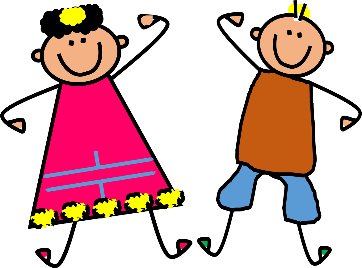 Kid clipart. Kids dancing at getdrawings