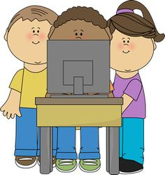 Kid clipart technology. This is a great banner library stock