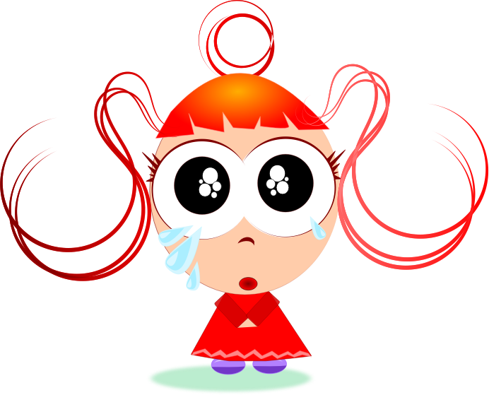 Kid crying png. Girl transparent images pluspng