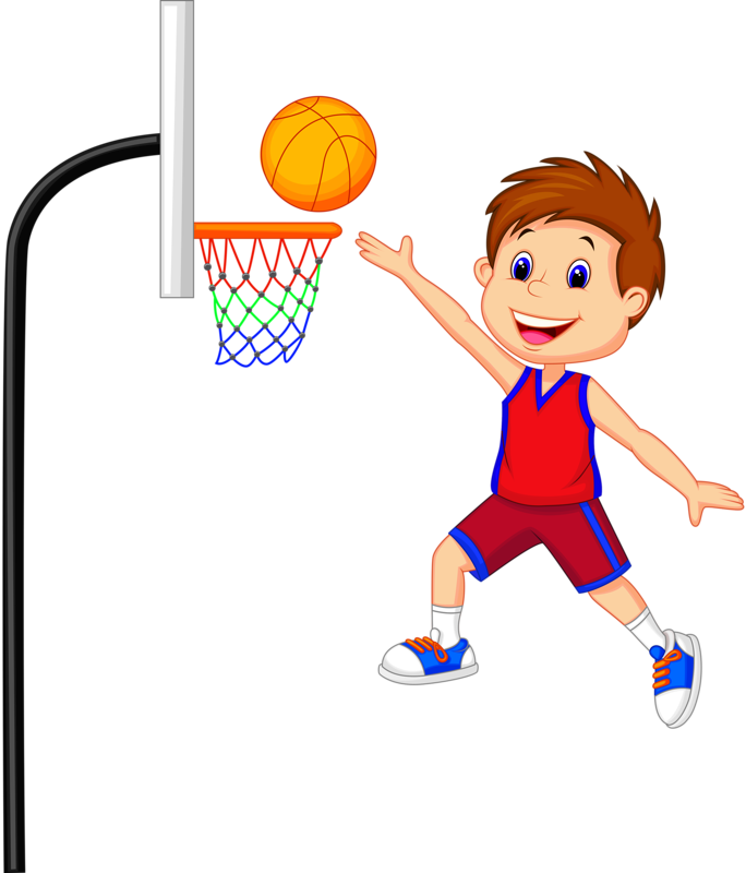 Drawing sport boys basketball. Png school clipart