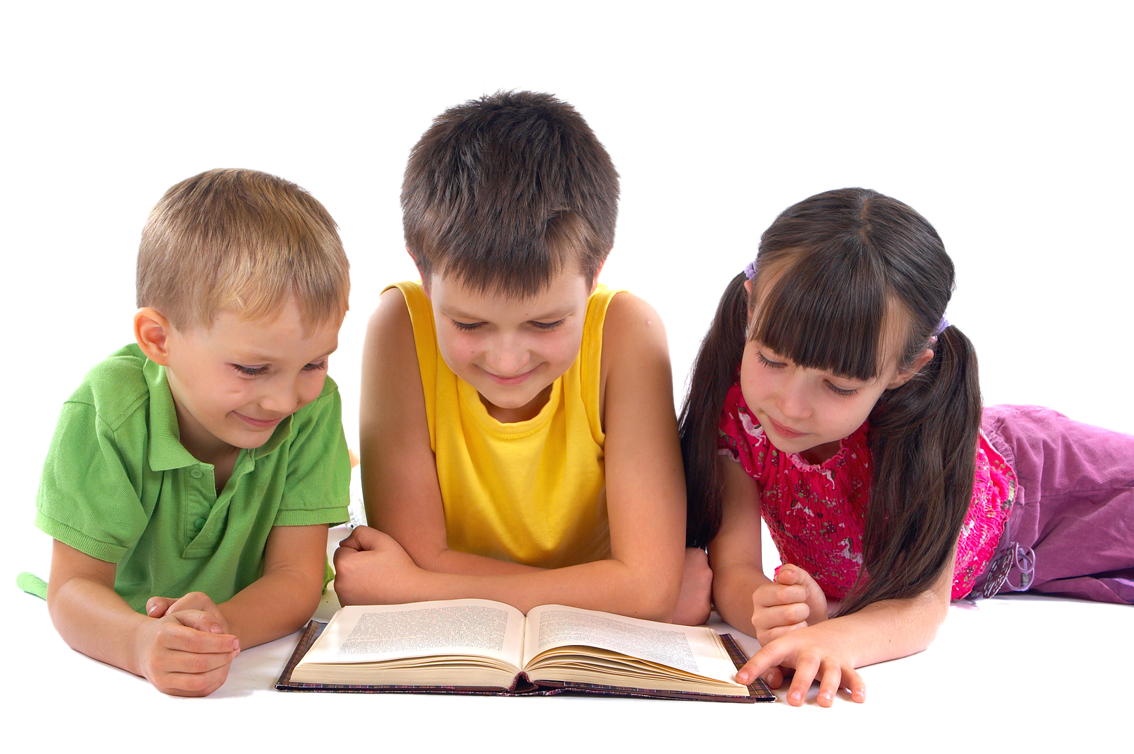 Kid reading png. Hd of kids transparent
