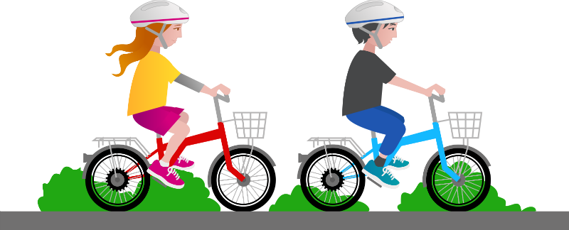 Kid riding bike png. Benefits of for children