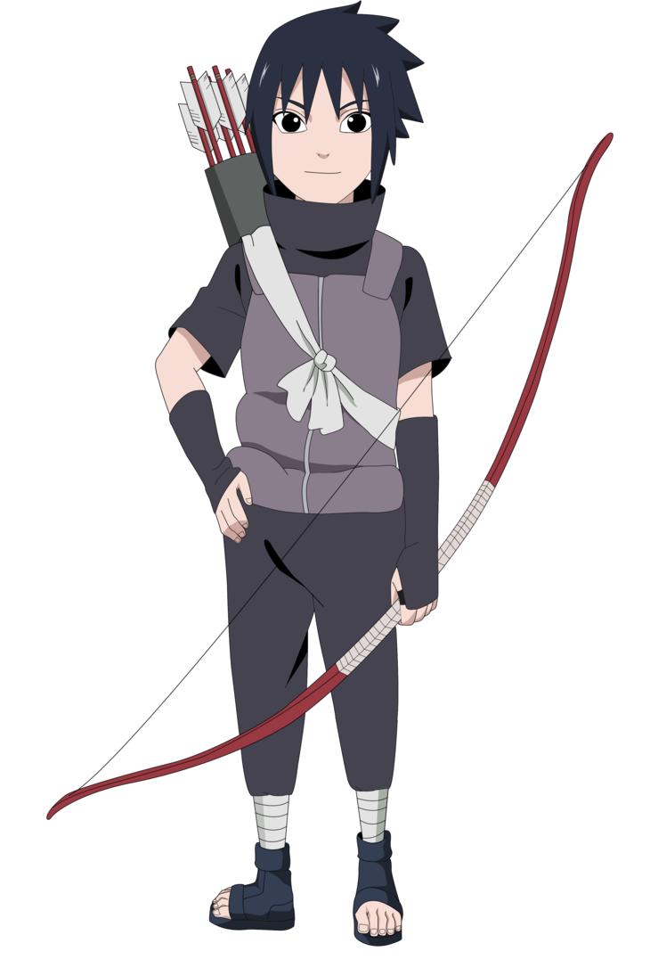 Kid sasuke png. Render by lwisf rxd