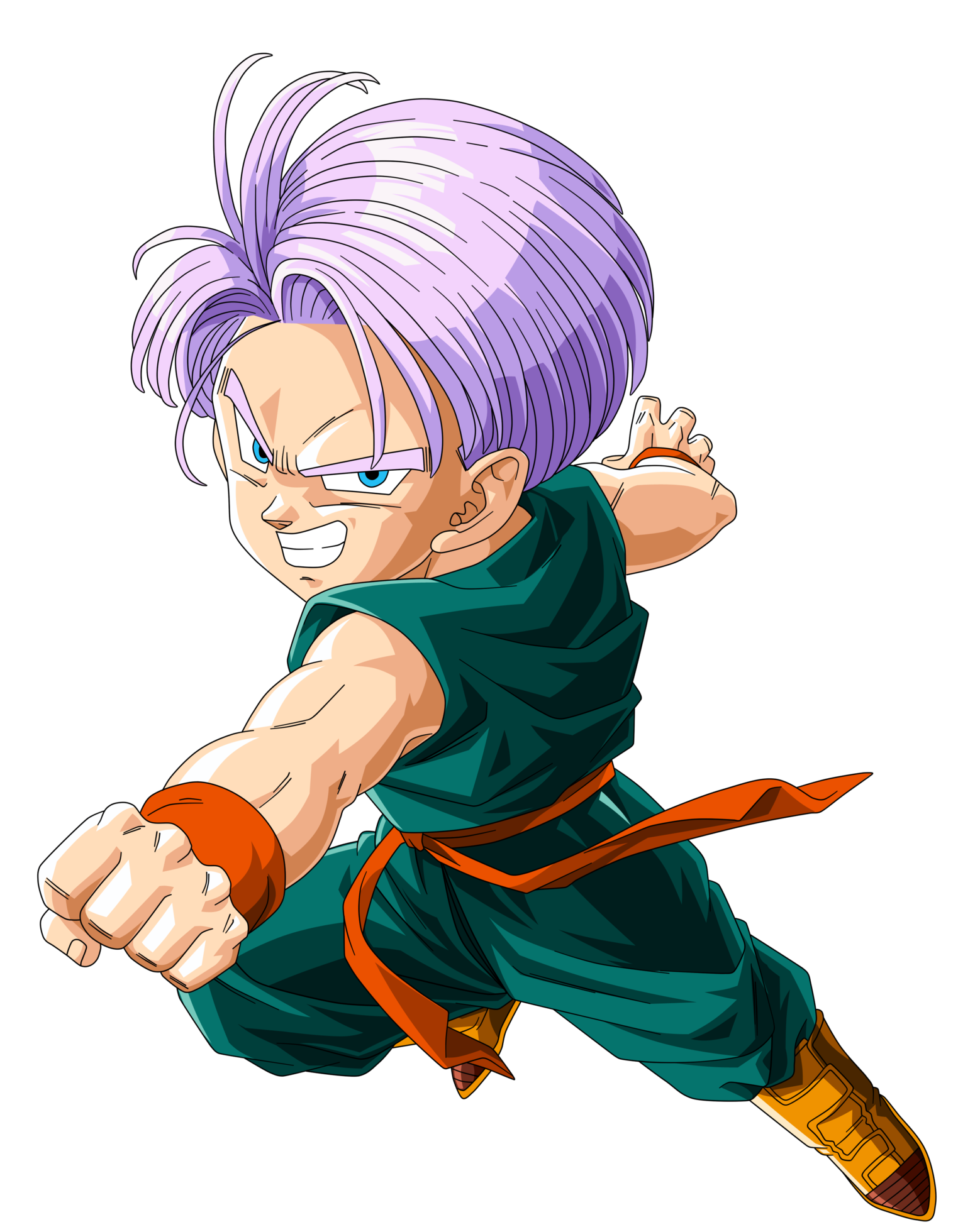 Kid trunks png. Image top strongest wikia