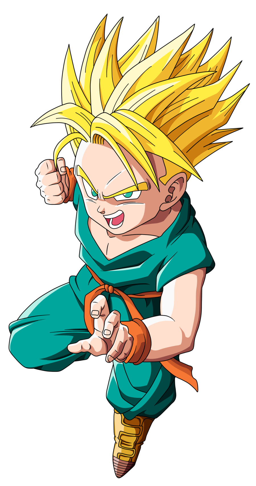 Kid trunks png. Image ss omnibattles wikia