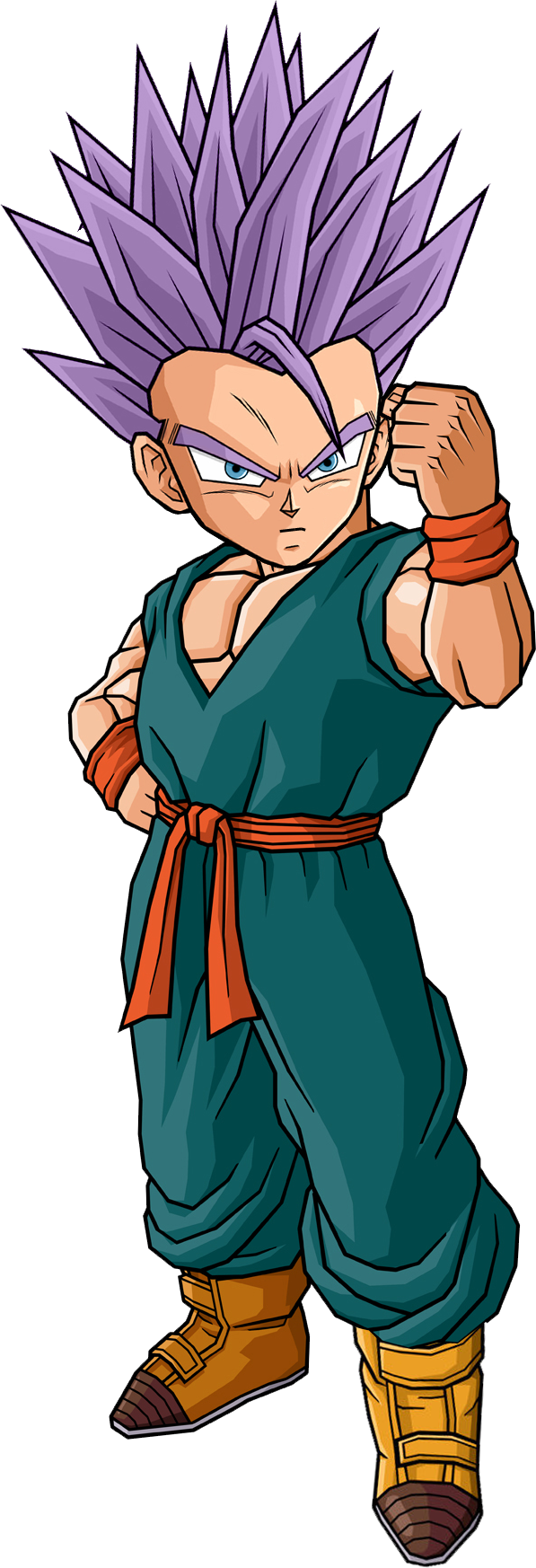Kid trunks png. Image mystic by db