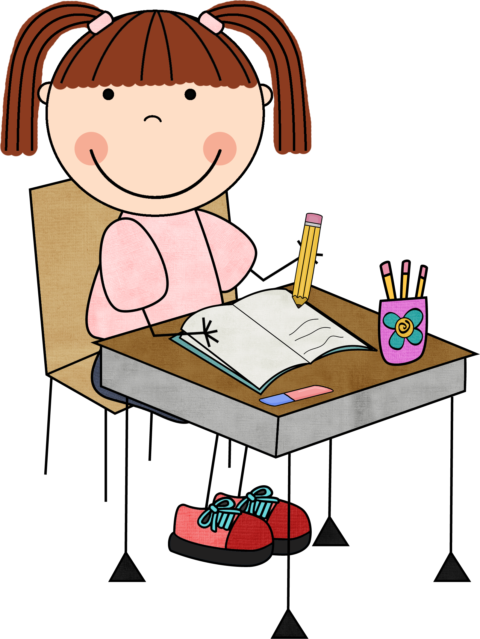 Kid writing png. Images of child clipart