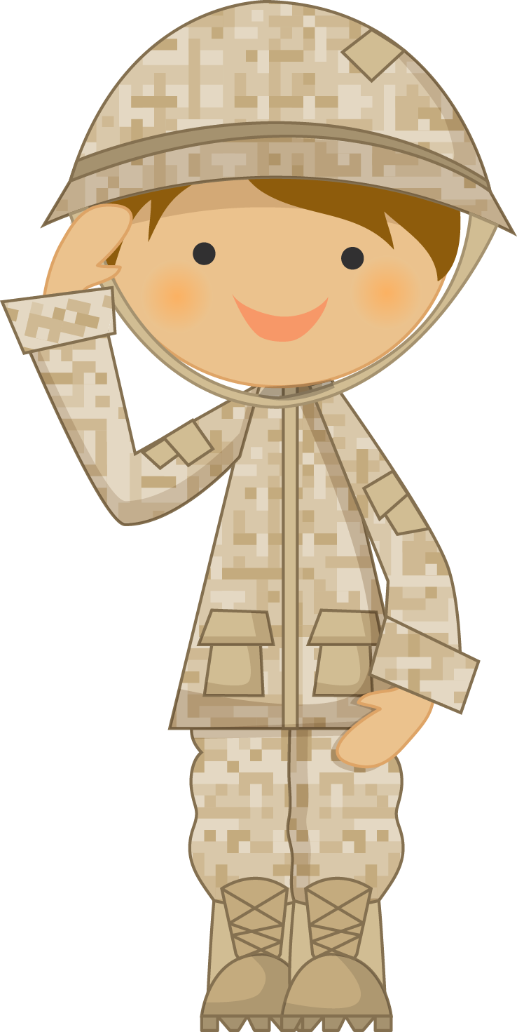 Soldiers clipart boy. Army clip art kids