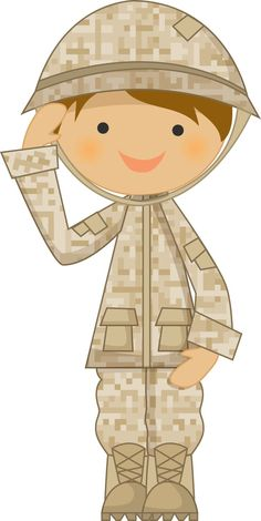 Soldiers clipart boy. Army military littleliagraphic girl