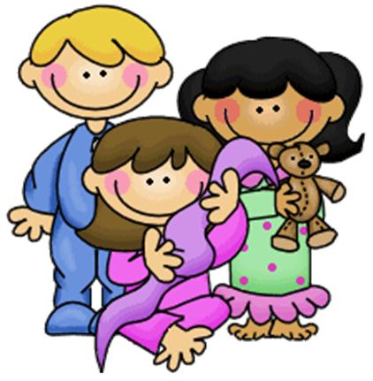 Pajamas clipart pajama. Party at getdrawings com