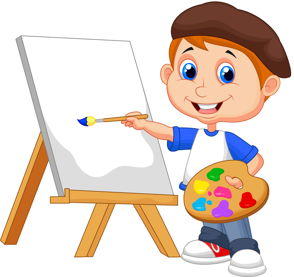 Kids painting png. Shutterstock clip art sunday