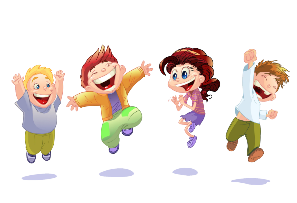 Kids transparent animated. Cute png image peoplepng