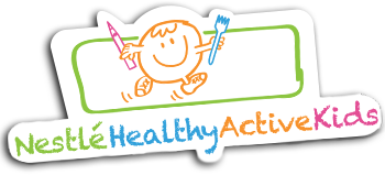 Kids transparent healthy. Home active