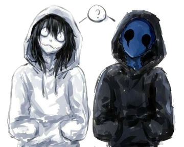 Jack drawing jeff the killer. Found on google from