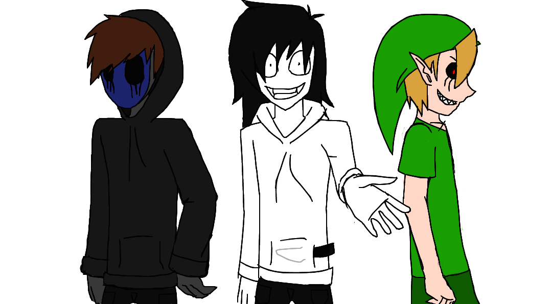 Jack drawing jeff the killer. Eyeless ben drowned by