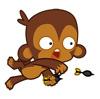 Monkey bloons wiki fandom. Dart clipart fire vector freeuse download