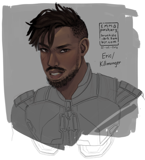 Killmonger drawing wallpaper. I was gonna ask