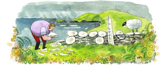 Ireland drawing rural. Wes author at toonstyle