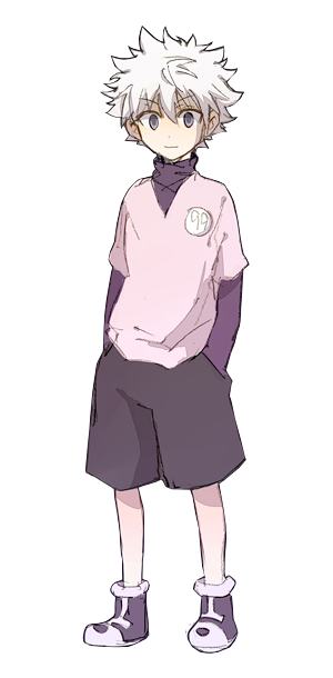 Killua transparent. Zoldyck anime pinterest