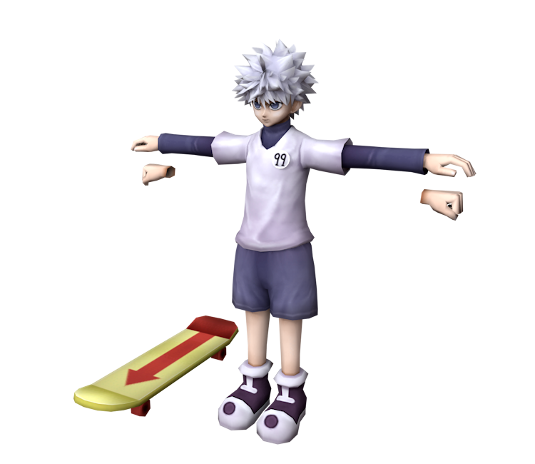 Killua transparent zoldyck. Psp hunter x wonder