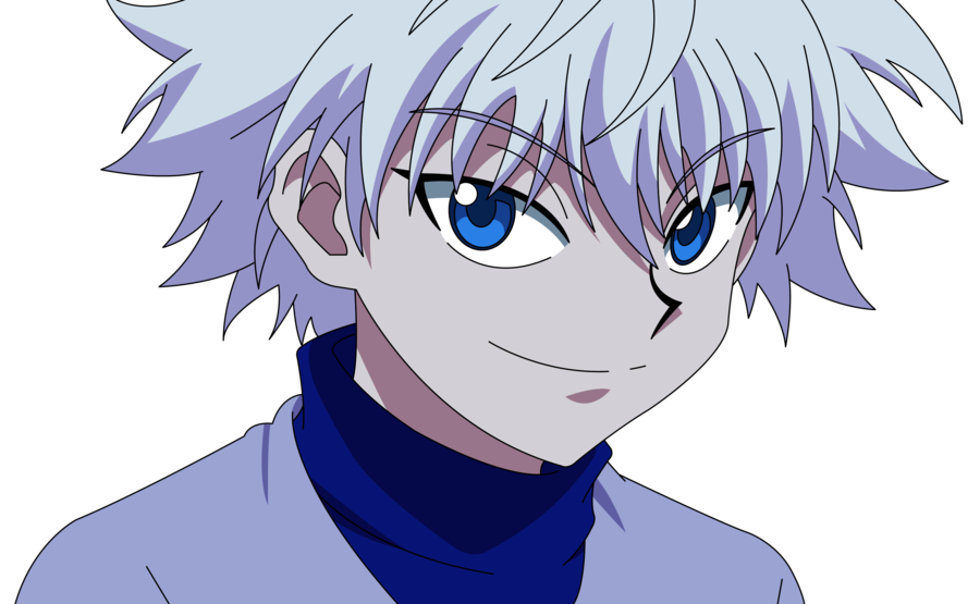 killua transparent face