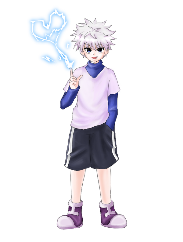 Killua transparent. Zoldyck hunter x hxh