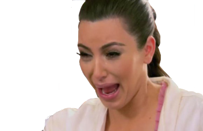 Kim kardashian break the internet png. Crying tumblr
