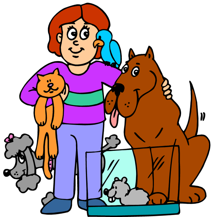 Free animal service cliparts. People clipart dog vector library stock