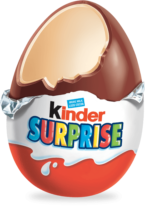 Kinder eggs png. Open surprise egg transparent