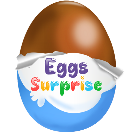 Kinder eggs png. Surprise kids game apps