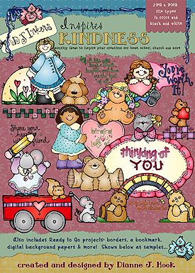 Kindness clipart border. Clip art projects to