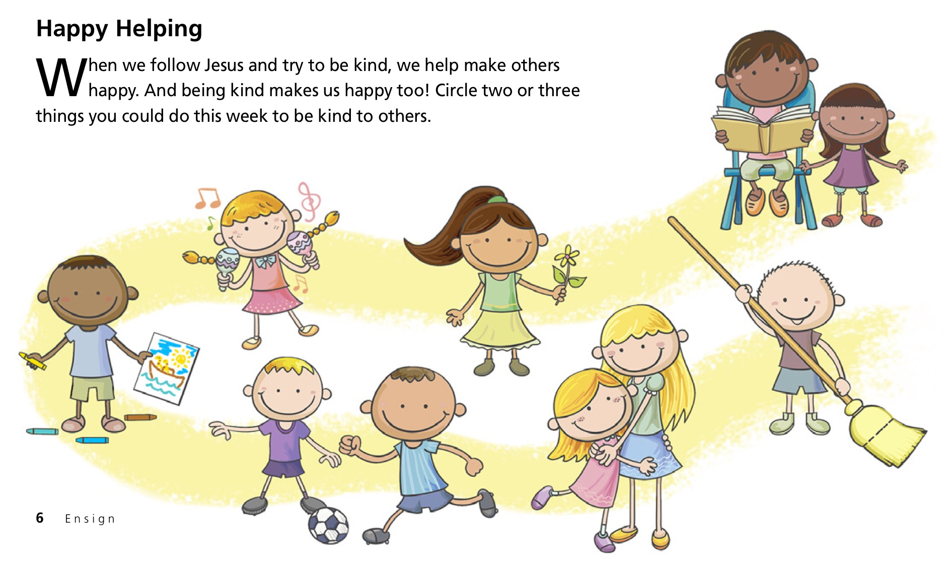 Respect clipart kindness. Archives teaching lds children