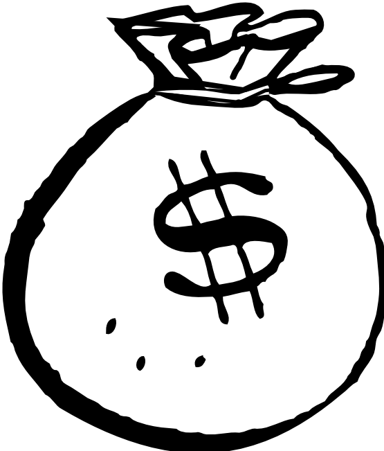 Stack of money at. Kinetic drawing jpg freeuse