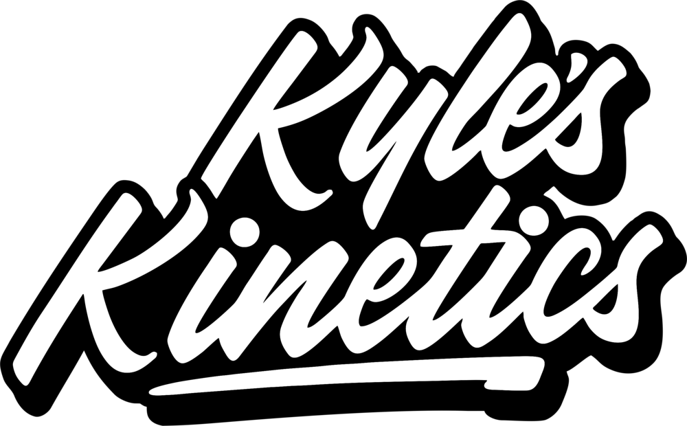 Kinetic drawing cool. New swinging kid kyle