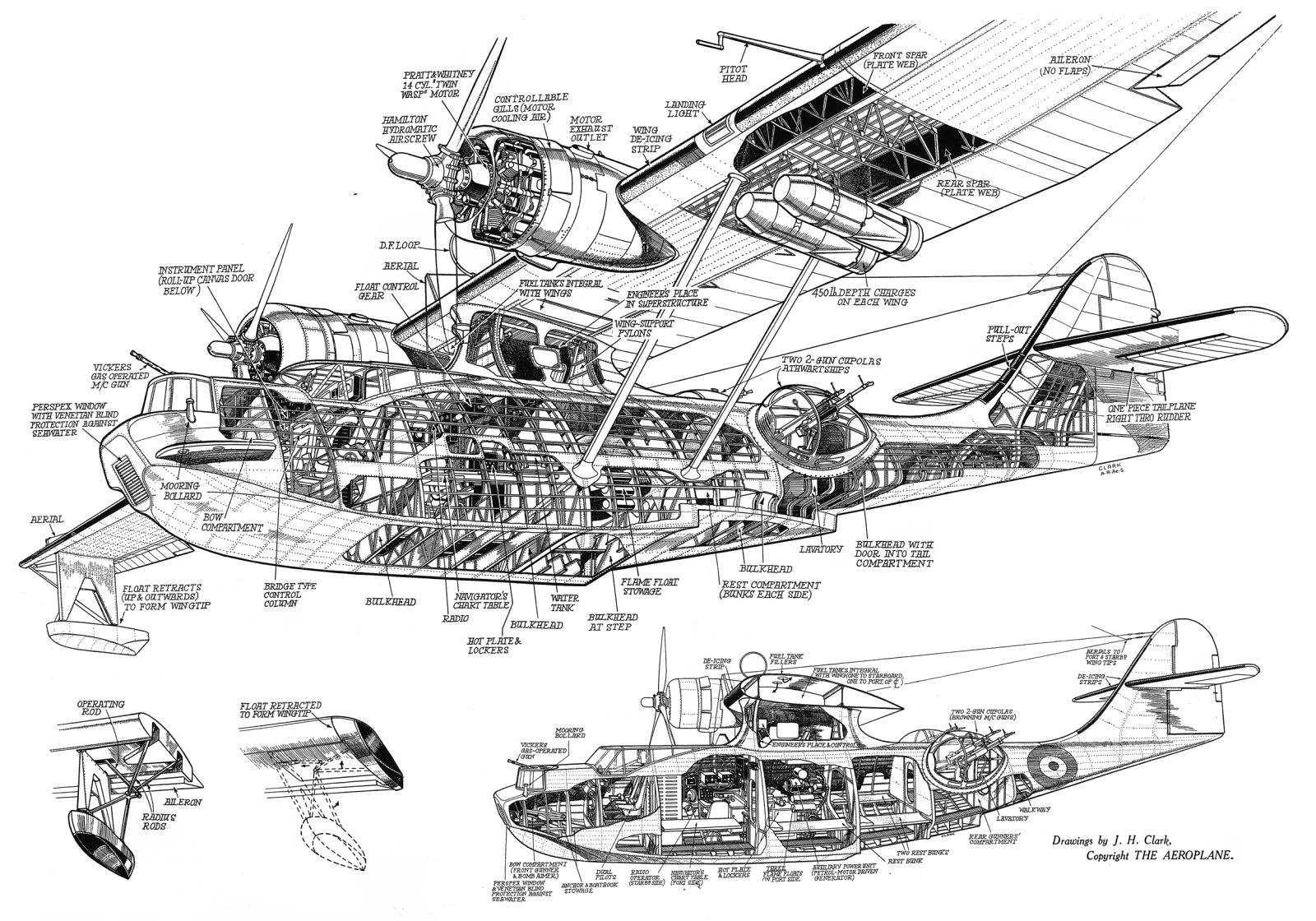 7 Kinetic Drawing Cutaway For Free Download On Ya Webdesign Stick Diagram The Gm 8l90 Catalina Structurual Society