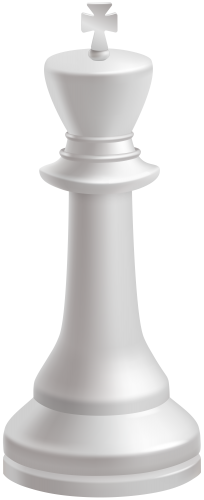 Chess king png. White piece clip art
