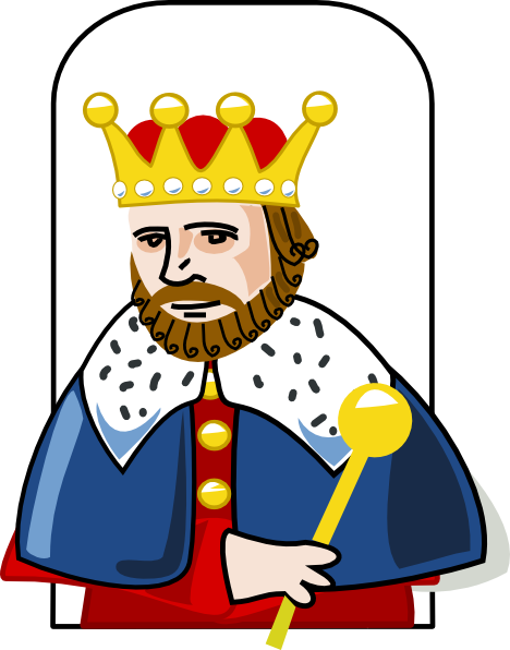 king clipart bad king